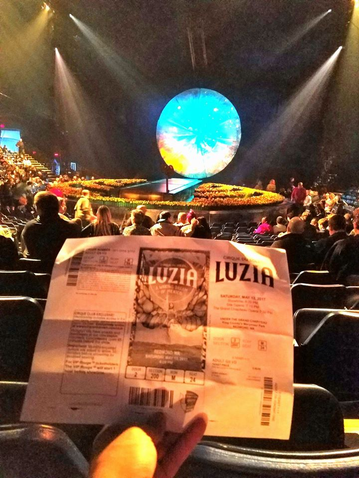 Watched LUZIA by Cirque du Soleil. Incredible talent mixed in with cheap immature comic relief. Also, the depiction of Mexican culture was like eating Mexican food in Seattle. Okay show but not worth the drive to Siberia (Redmond).