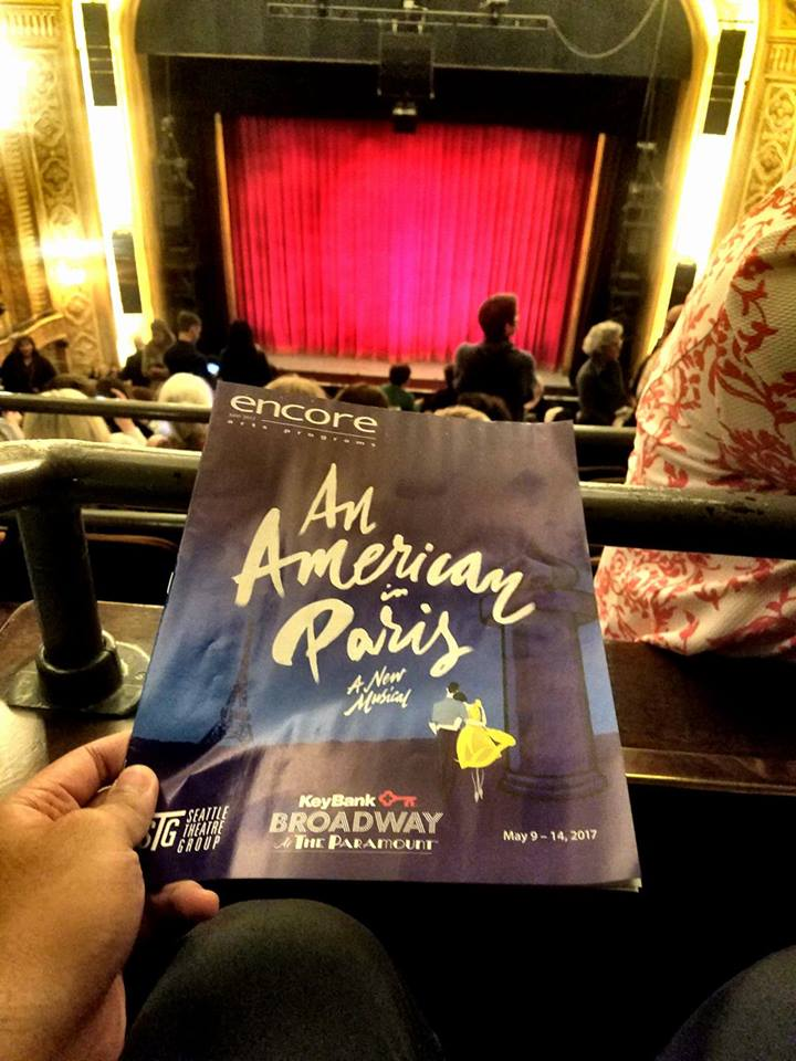 Watched the stage adaptation of the Gershwin musical An American In Paris on Broadway. Every movement (even in the strictly acting portions with no music) was nuanced with ballet-like elegance. Very charming classic feel.