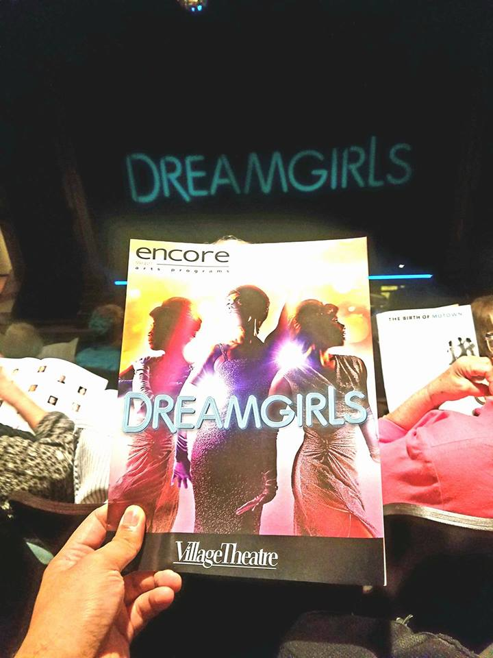 Watched the musical Dreamgirls with Paul and Johnathon. Incredible showstopping voices all throughout! Consistently amazed how little ole' Issaquah houses such a high quality theater company.