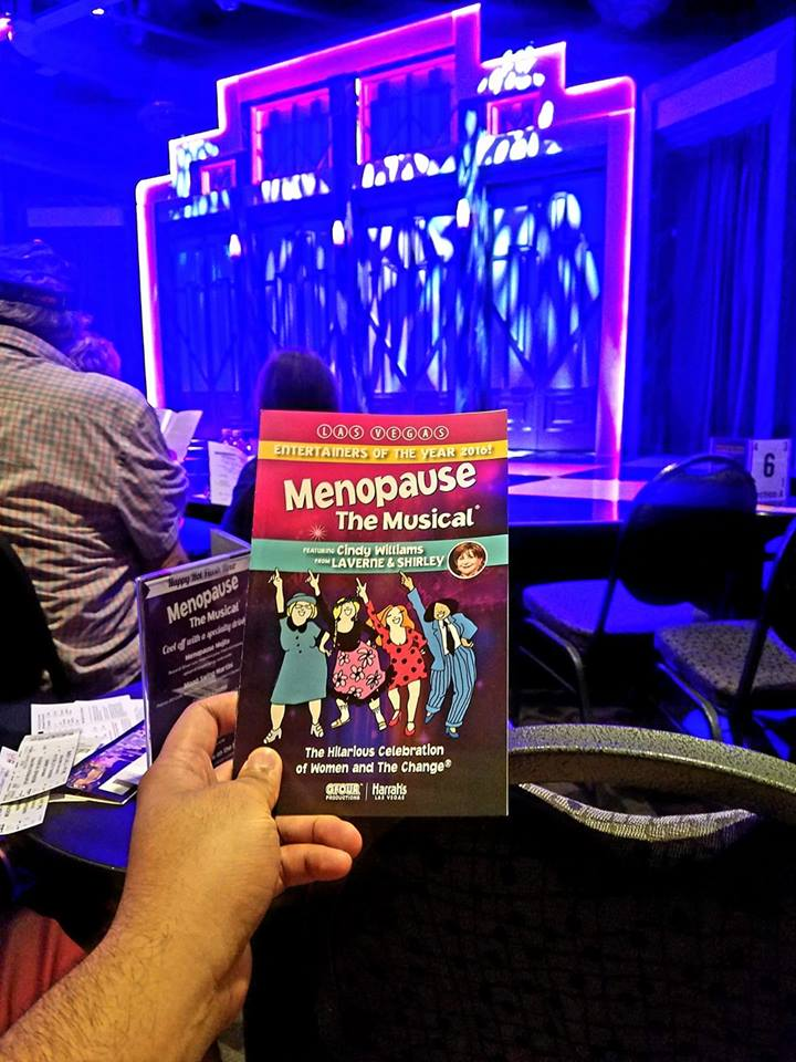 "Three grown young men attended an afternoon matinee of Menopause The Musical. Powerful voices and funny songs about ""The Change."" Kinda wish there was more of a plot though."