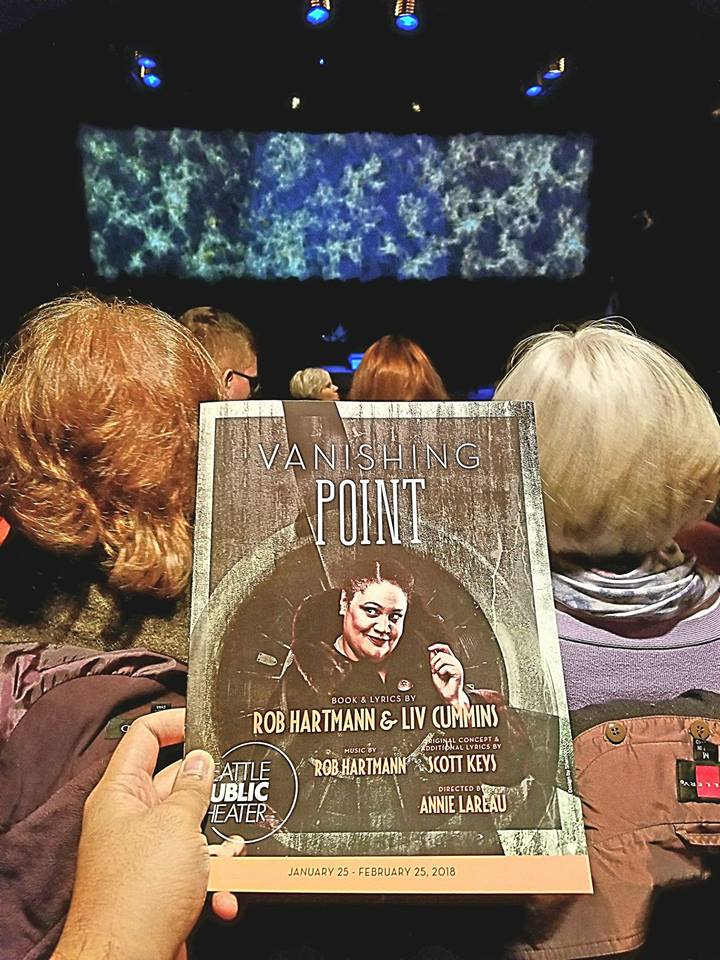 "Watched the musical ""Vanishing Point,"" which explored the disappearances of Agatha Christie, Amelia Earhart, & Aimee Semple McPherson. When will I ever learn to stay away from historical fiction plays/musicals? So very dry."