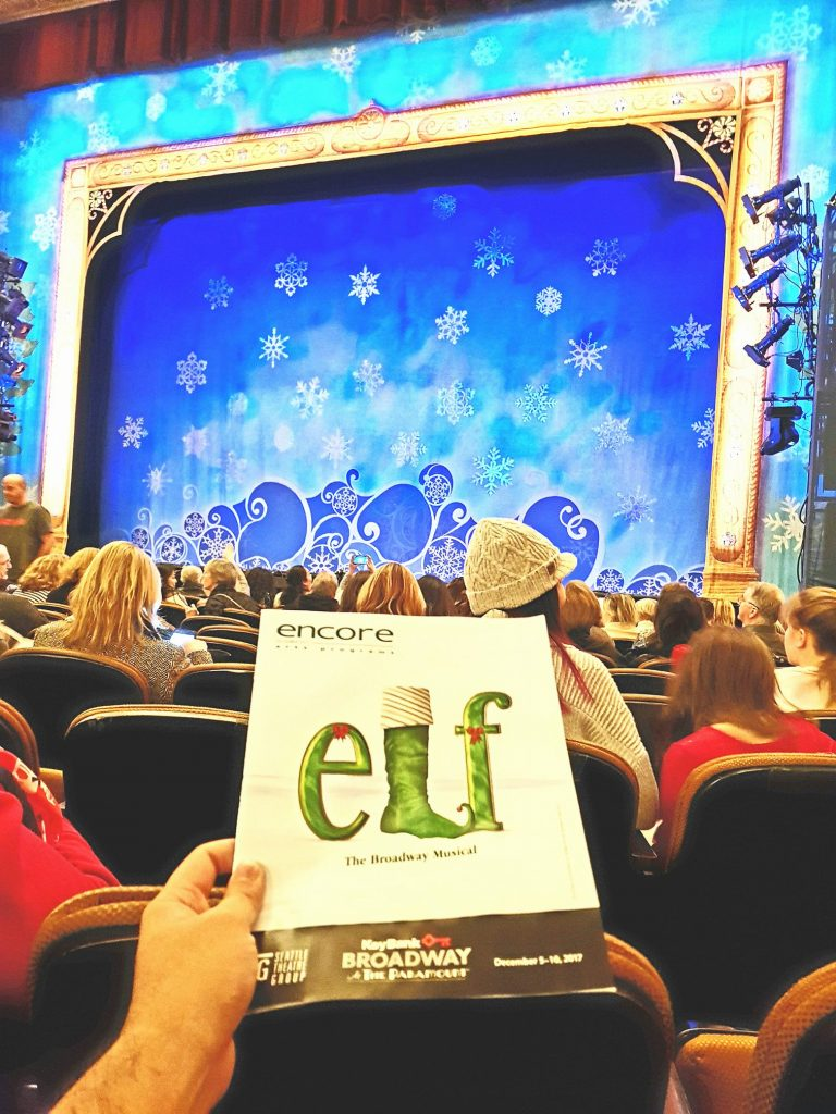 Watched Elf: The Musical. Closest I've ever sat at Paramount Theatre! Coming from a guy who tends to like superficial musicals, I thought the writing could use more substance (but what do you expect from an xmas-themed show). Despite that, the performers and the set were amazing! — attending Elf The Musical at Paramount Theatre.