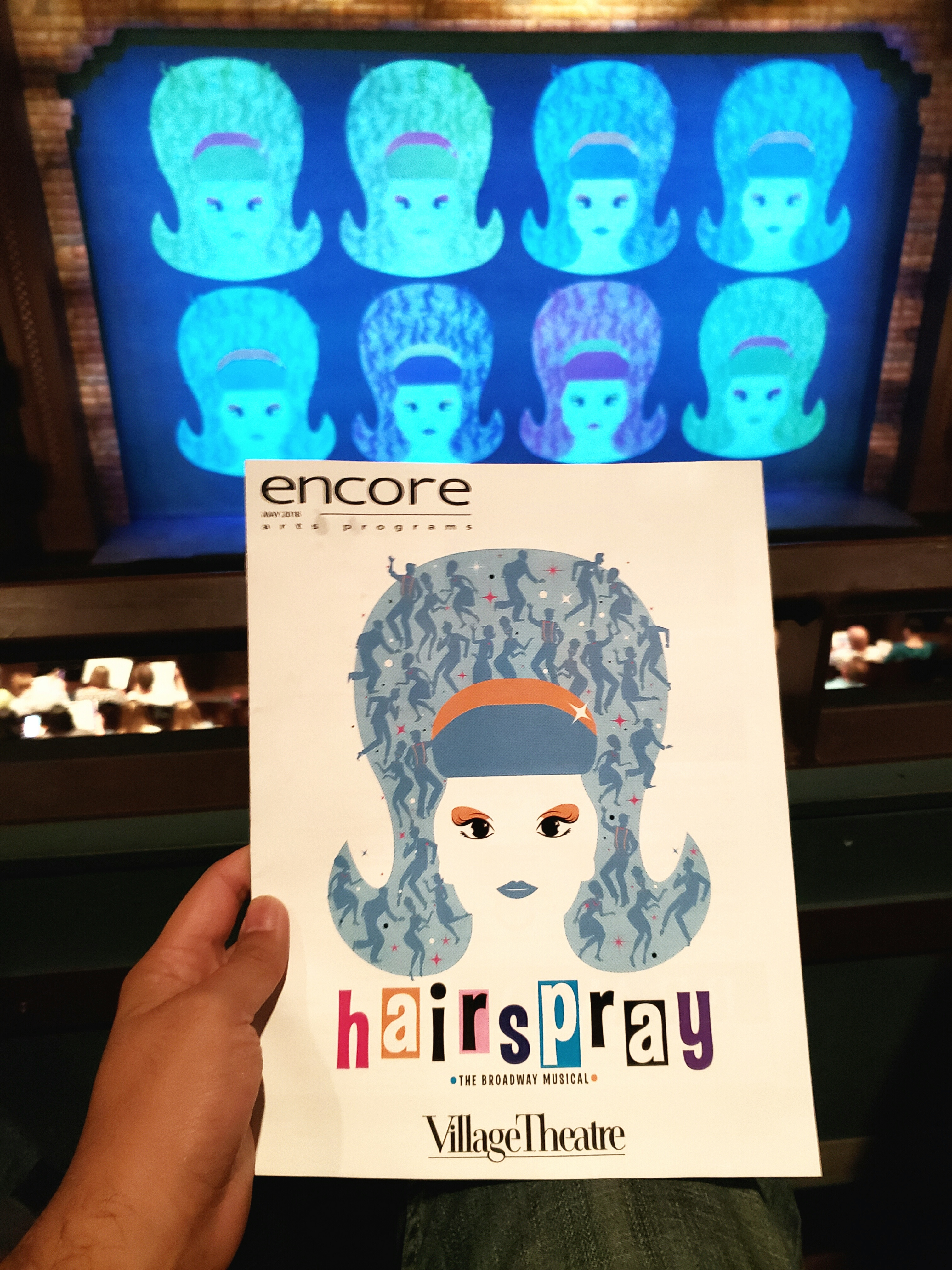 Best Hairspray version I've seen so far (out of 5). Will probably see again. It was interesting to hear Tracy with a more full-bodied (no pun intended) non-squeaky voice. Wish they could add the movie's songs