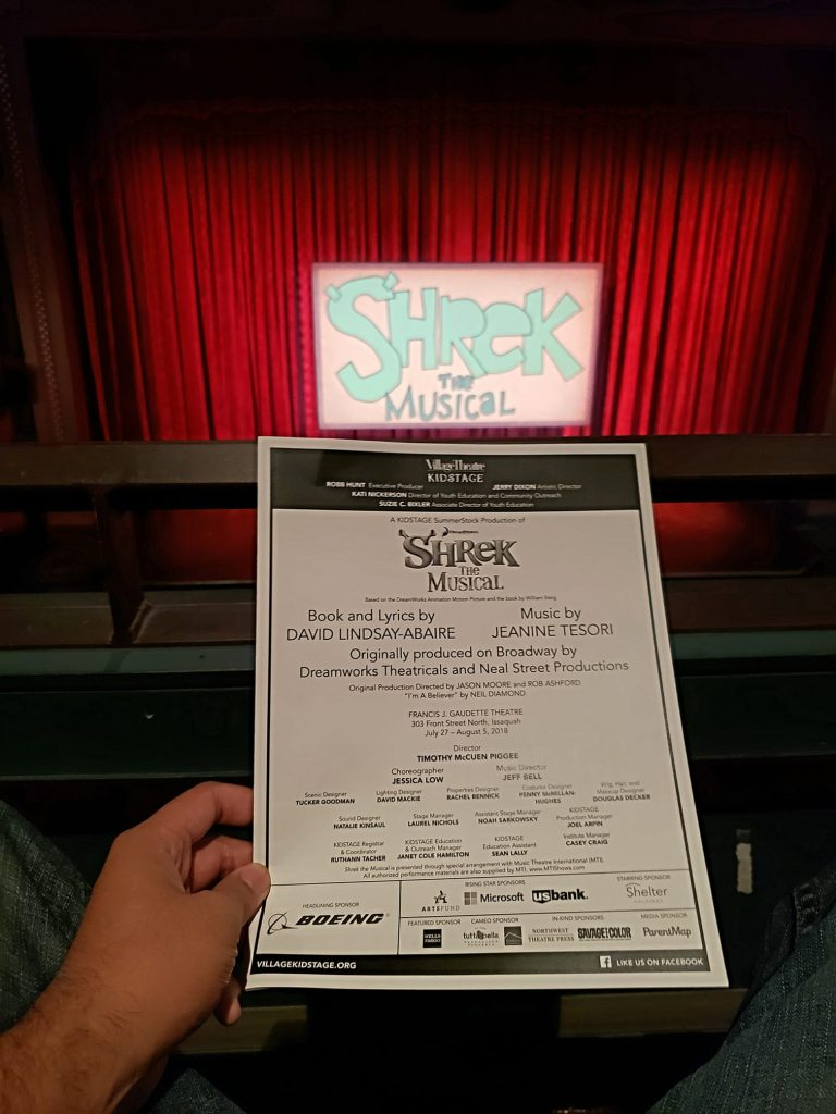 Watched Shrek the Musical. The actress that played the dragon was out of this world! Funny how they made Little Red Riding Hood's wolf a cross dresser.
