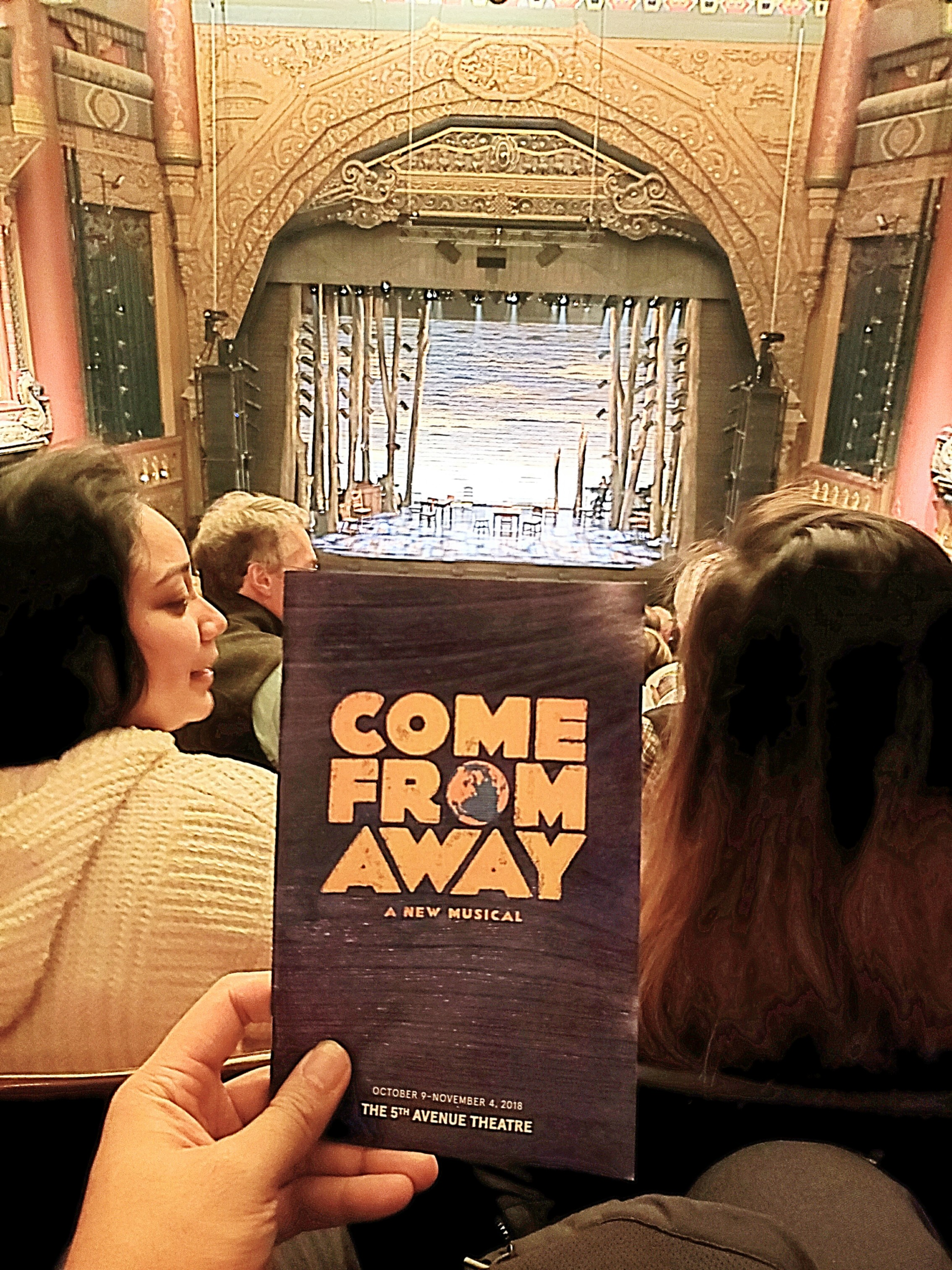 Watched the Tony Awards-winning musical Come From Away. It's a beautiful story that celebrates humanity's spirit of generosity and kindness after 9/11 in a Love Actually way.