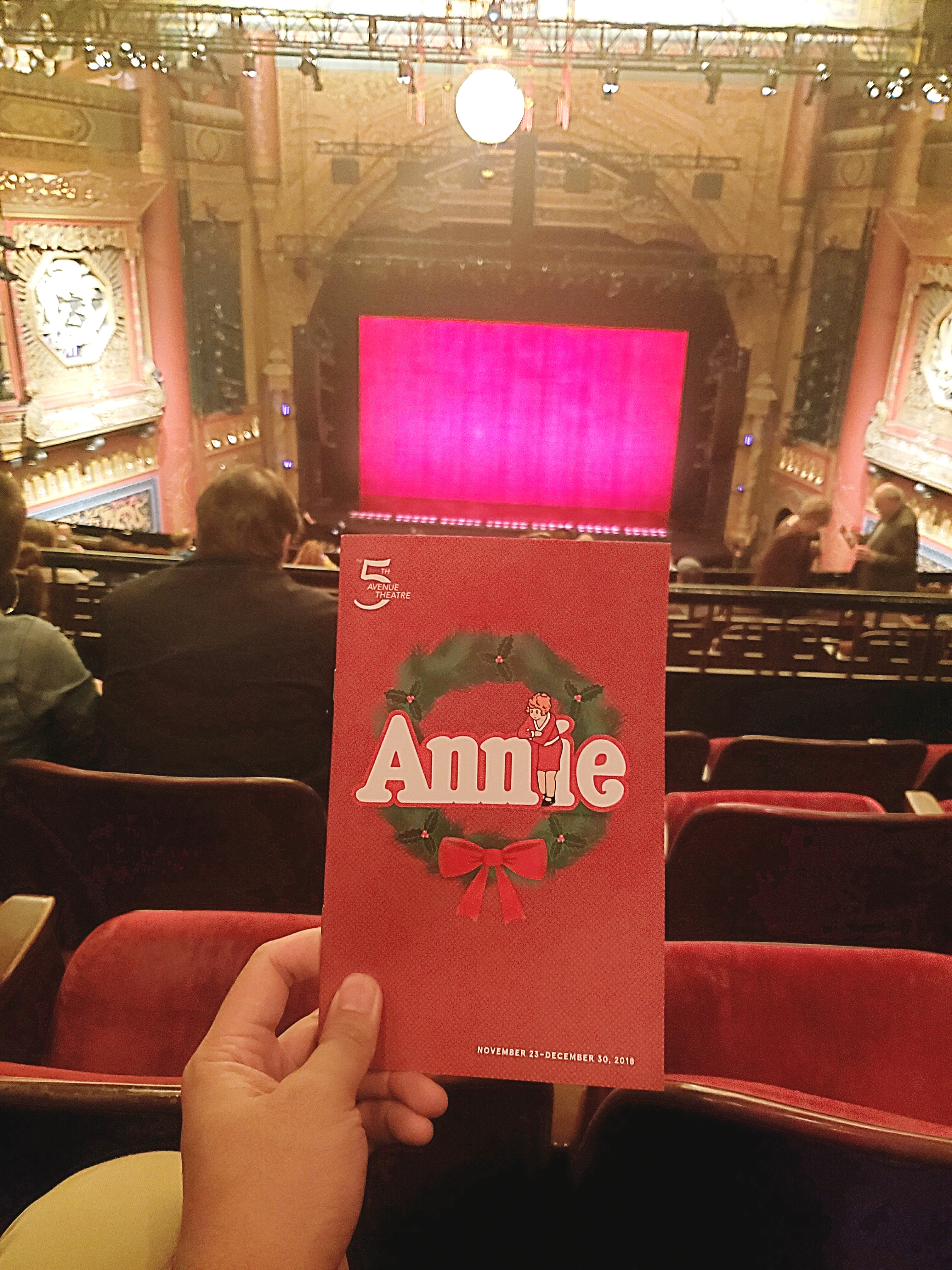 Watched Annie The Musical with Andres and Eyal on a school night. As always,