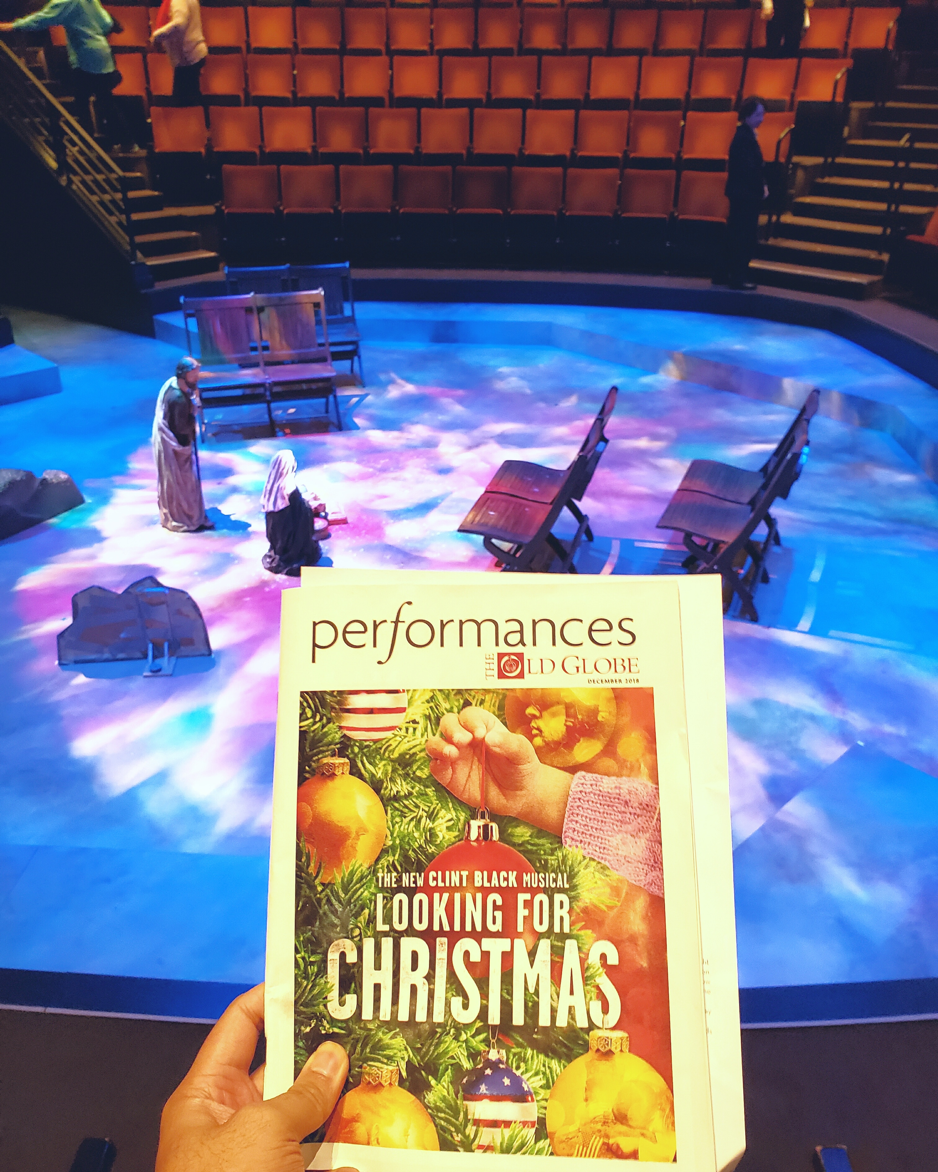 World-premier musical adaptation of Clint Black's country xmas album